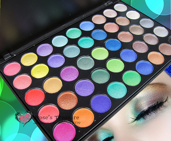 2017 HOT 45 Color Professional Eyeshadow Palette Shinning Makeup Eye Shadow Palette Set #45XG Kit Wholesale