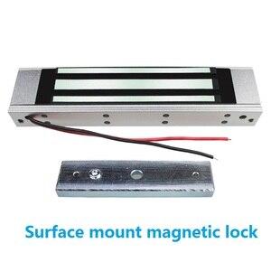 Image 4 - 180 kg 350Lbs 315 mhz Draadloze Afstandsbediening Magnetische Slot met 2 Remote Handvat Draadloze Exit 3 m Kabel