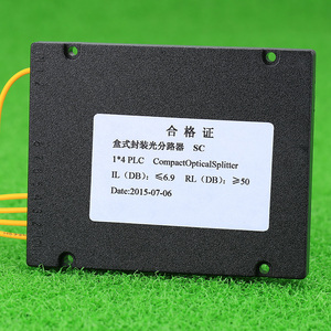 Image 5 - Kelushi新 1 × 4 テレコムplcカセットscコンパクト光スプリッタ平面導波路繊維光学分岐デバイス