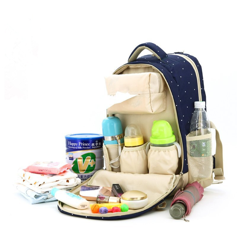 ФОТО 2016 New Baby Diaper Backpack Shoulders Baby Maternity Mother Bag Baby Diaper Nappy Changing Bag Stroller Bag Multifunctional