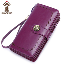SENDEFN fashion women wallets split leather large capacity lady long clutch purse id credit card holder цена в Москве и Питере