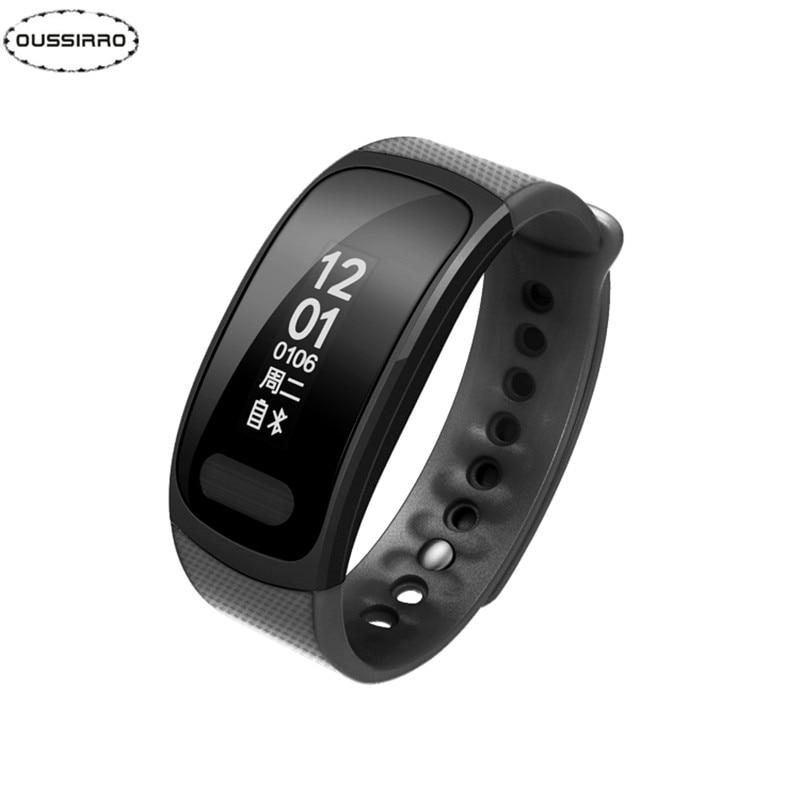 OUSSIRRO Bluetooth Smartband SX100 Heart Rate Monitor Smart Bracelet Blood Oxygen Monitor Smart Wristband for Anfdroid