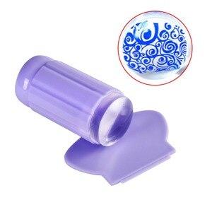 Image 3 - Biutee estampador de silicona transparente para uñas, conjunto de rascador de estampación de uñas de gel transparente, herramienta de plantilla de manicura para transferencia de esmalte