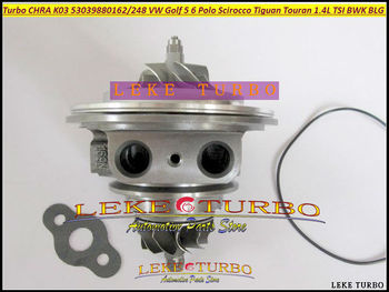 Gratis Schip Turbo Cartridge 53039880248 53039880162 53039880142 Voor VW Golf 5 6 Polo Scirocco Tiguan Touran 1.4L TSI BWK BLG CAVB