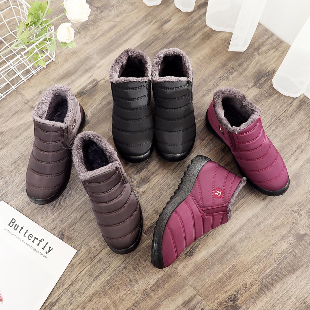 Women Winter Boots Unisex Couples Snow Boots Women Ankle Shoes New Fashion  Color Ladies Ankle Boots Waterproof Shoes Keep Warm|Ankle Boots| -  AliExpress