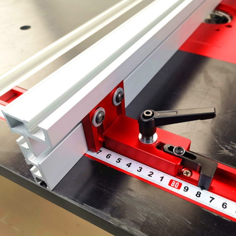 60/80/100cm 75mm height Miter Track T-track Stop Sliding Brackets T-Slot Aluminium Profile Woodworking workbench DIY Accessories