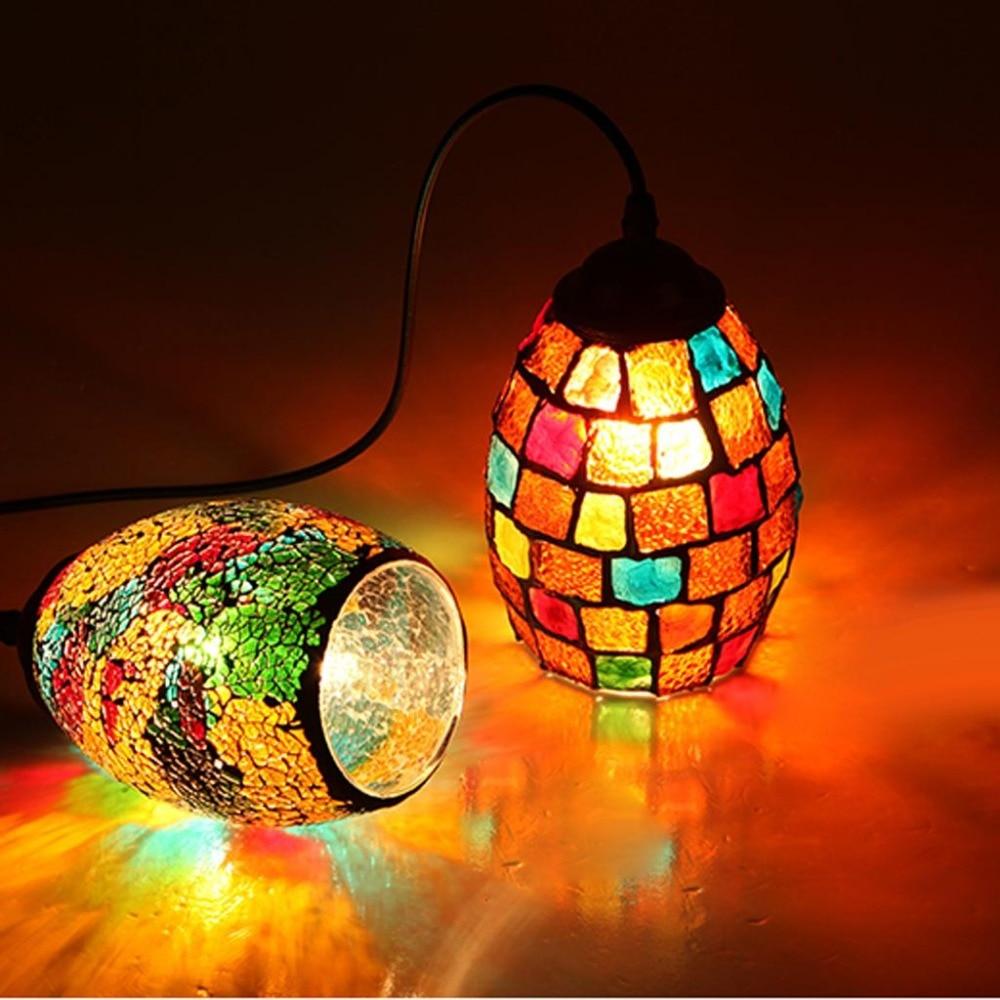 1pcs Retro Colorful Ceiling Pendant Lamp Light Chandelier Shades Lampshades