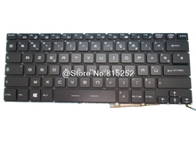 Laptop Keyboard For MSI GS30 2M-011XFR 2M-015FR 2M-023FR 2M-024XFR GS40 6QE-014FR 6QE-015XFR GS43VR 6RE-037FR 7RE-086FR French