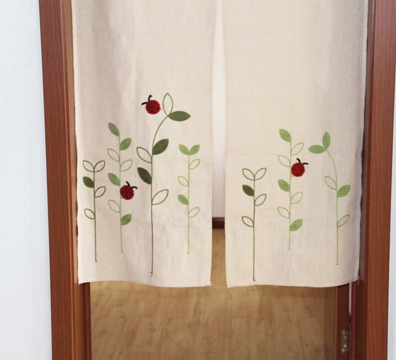 ZHH Left And Right Biparting Open Modern Minimalist Japanese Door Curtain  Summer Mosquito Repelling High Cloth Curtain In Curtains From Home U0026 Garden  On ...