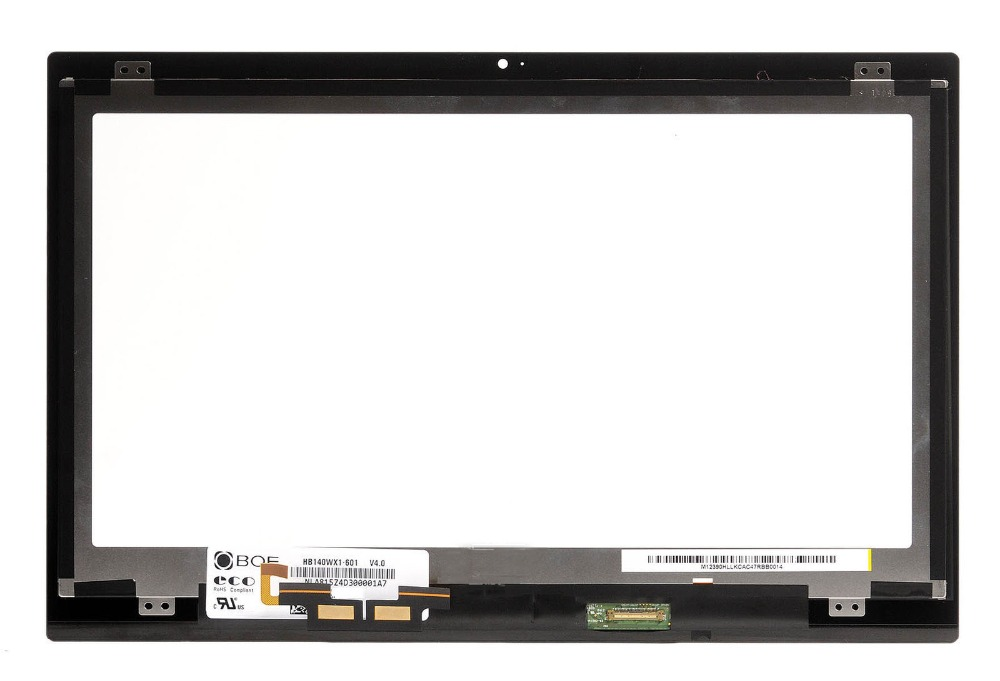 Replacement for Acer Aspire R14 R3-471 R3-471T Touch LED LCD Screen Digitizer Display Assembly 1366x768 HD 14 0 laptop touch screen digitizer glass lens for acer aspire v5 472 v5 472g v5 473p r3 471 r3 471t r14 r 14