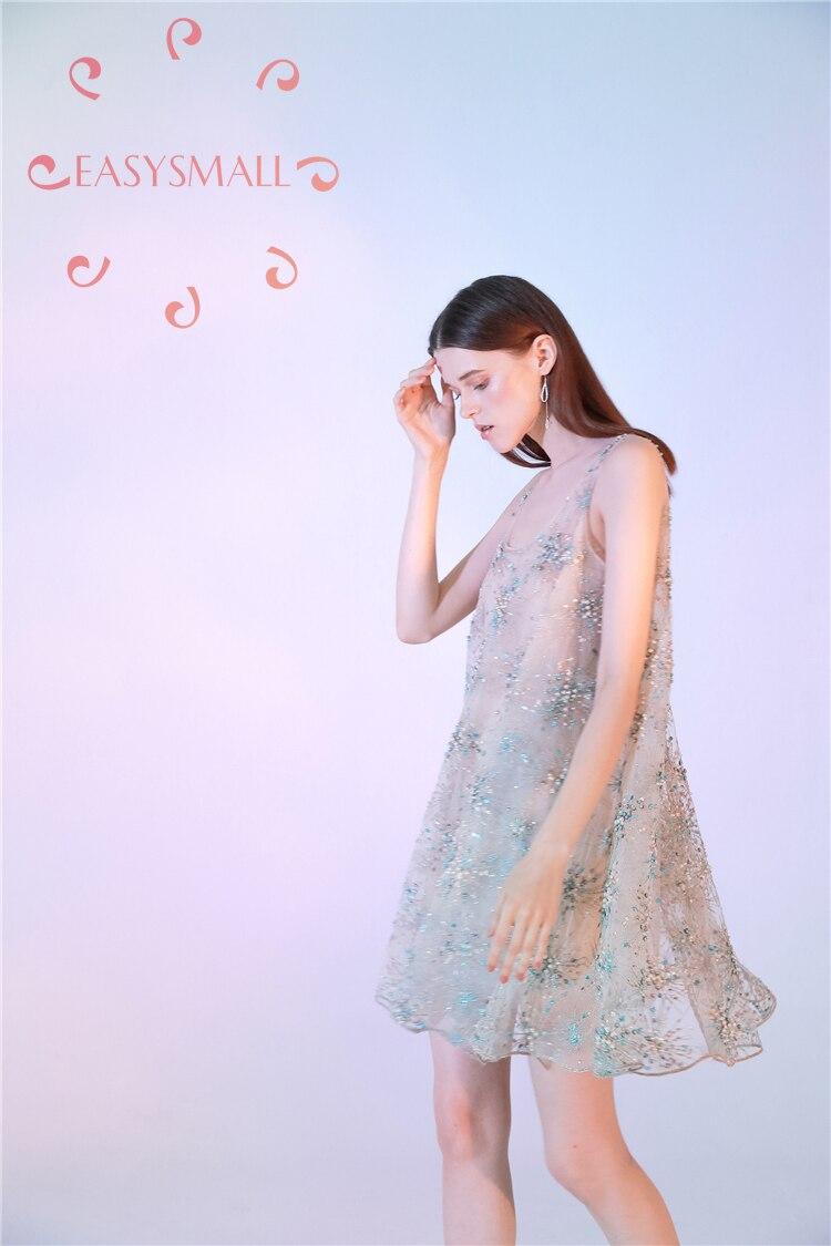 EASYSMALL/женское платье, модное летнее, сексуальное, большие размеры, высококачественные, вечерние, вечерние, с высокой талией, без рукавов, Пла