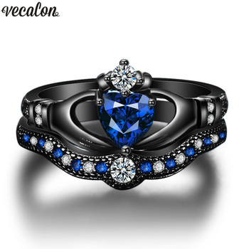 Claddagh Women Engagement Wedding Ring
