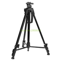 Aluminum Alloy Folding Black Easel Telescopic Studio Art Painting Easels Tripod Display Stand Shelf Artist Adjustable C26
