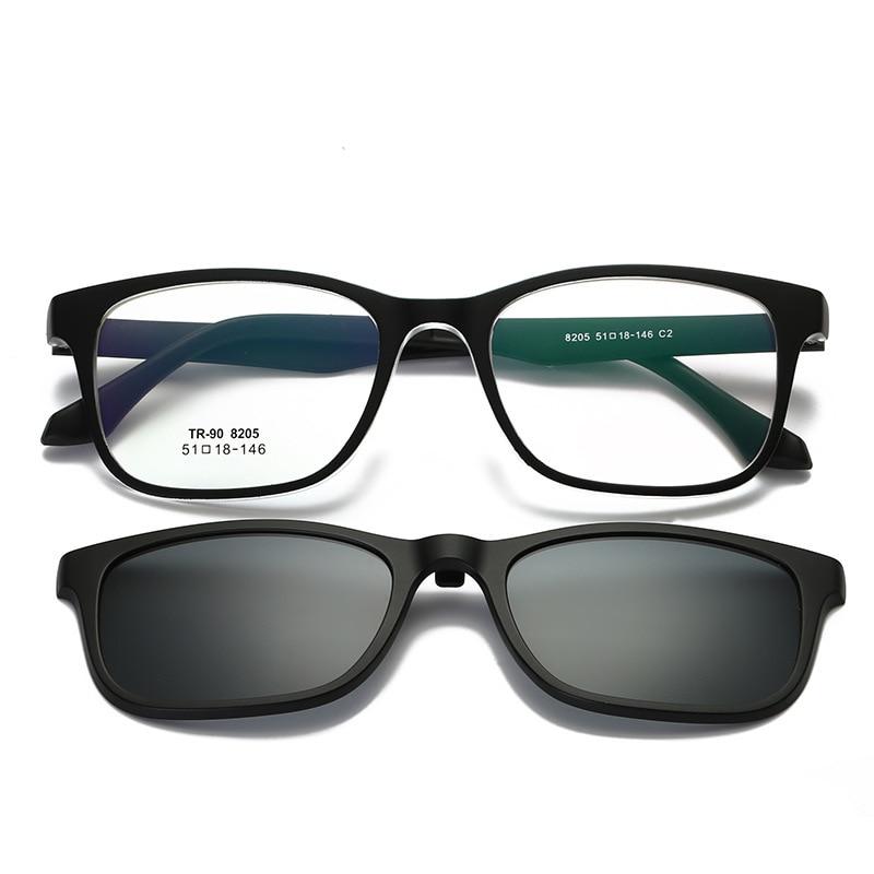 2aeeadf81d Аксессуары Vazrobe Clip on Myopia Sunglasses Men Women Driving Polarized  Sun Lenses TR90 Glasses Frames Anti Glare UV400 Tinted Goggles