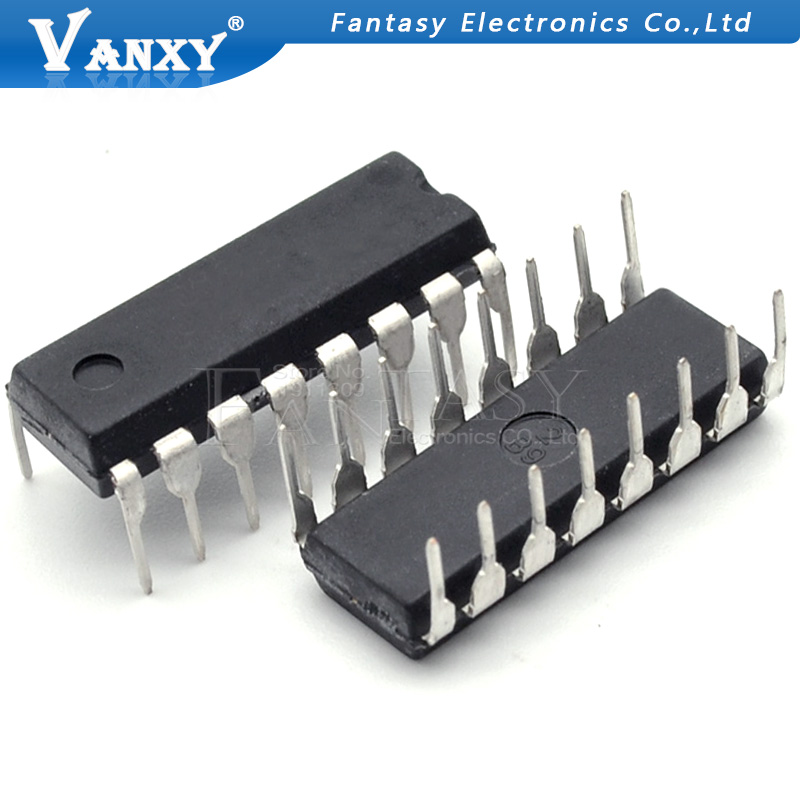 10pcs CD4042BE DIP-16 CD4042 DIP16 4042BE DIP IC