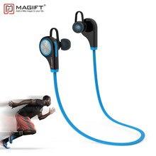 0bba0ca3f1d Magift6 deportes Bluetooth CSR4.1 Q9 inalámbrico en la oreja los auriculares  estéreo con micrófono para iPhone7 plus Android