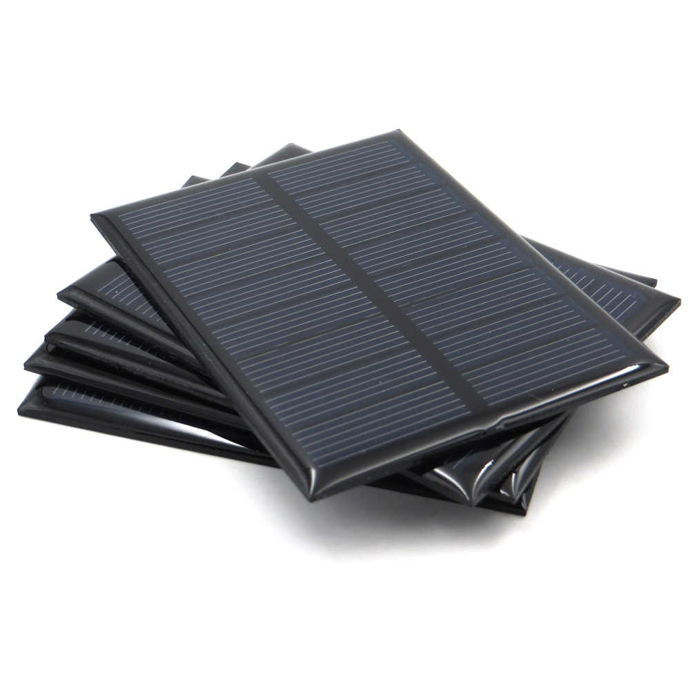 5V 5.5V Solar Panel 80mA 100mA 150mA 160mA 200mA 250mA 300mA 500mA 840mA Mini Solar Battery Cell Phone Charger Portable