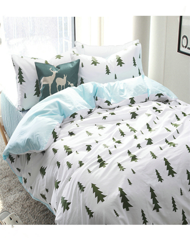 su0026v nordic brief style bedding sets korean american duvet covers stripe lattice bed sheets cotton comforters cartoon bed linensin bedding sets from home