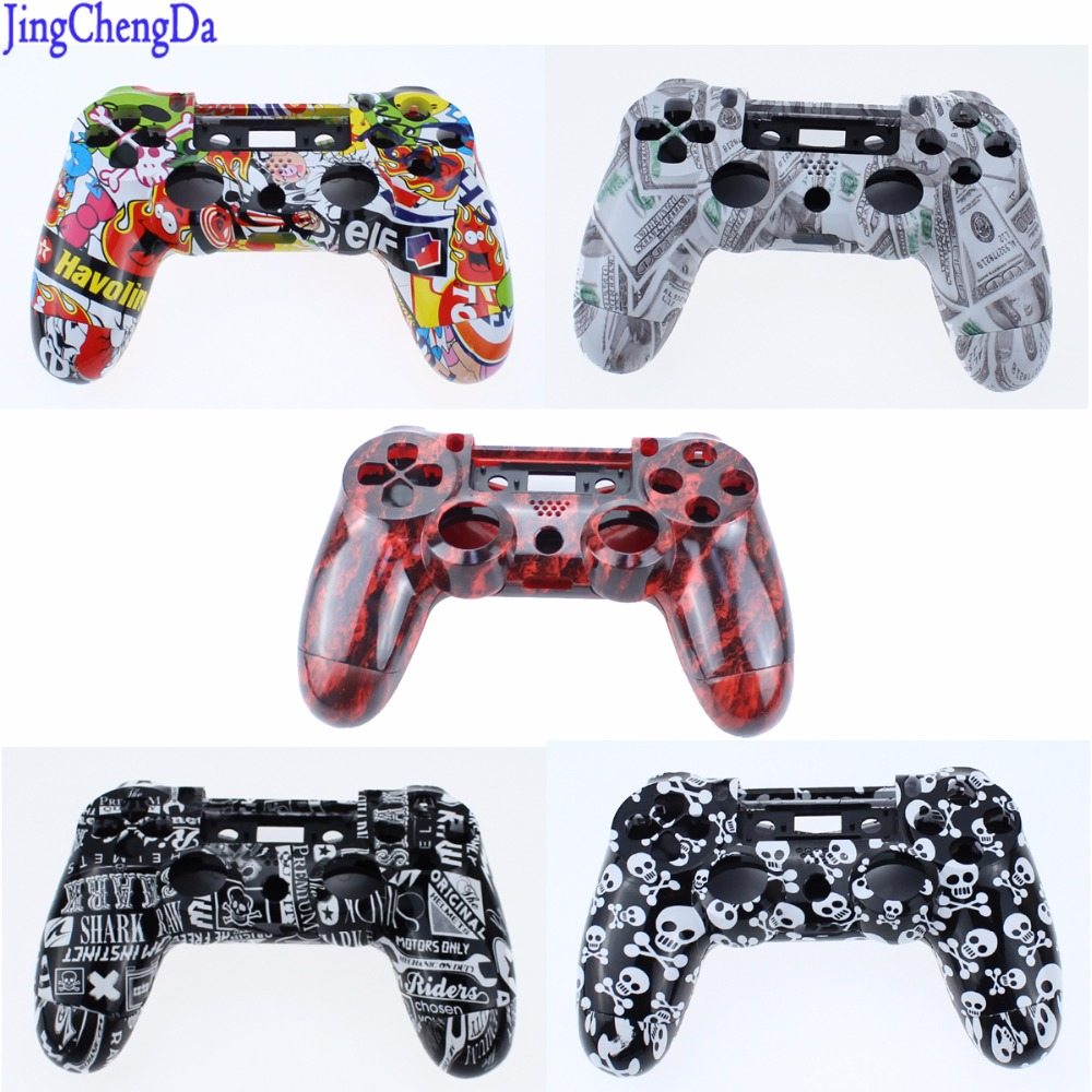 custom-hydro-dipped-sticker-bomb-top-back-replacement-housing-shell-cover-for-sony-font-b-playstation-b-font-dualshock-4-ps4-game-controller