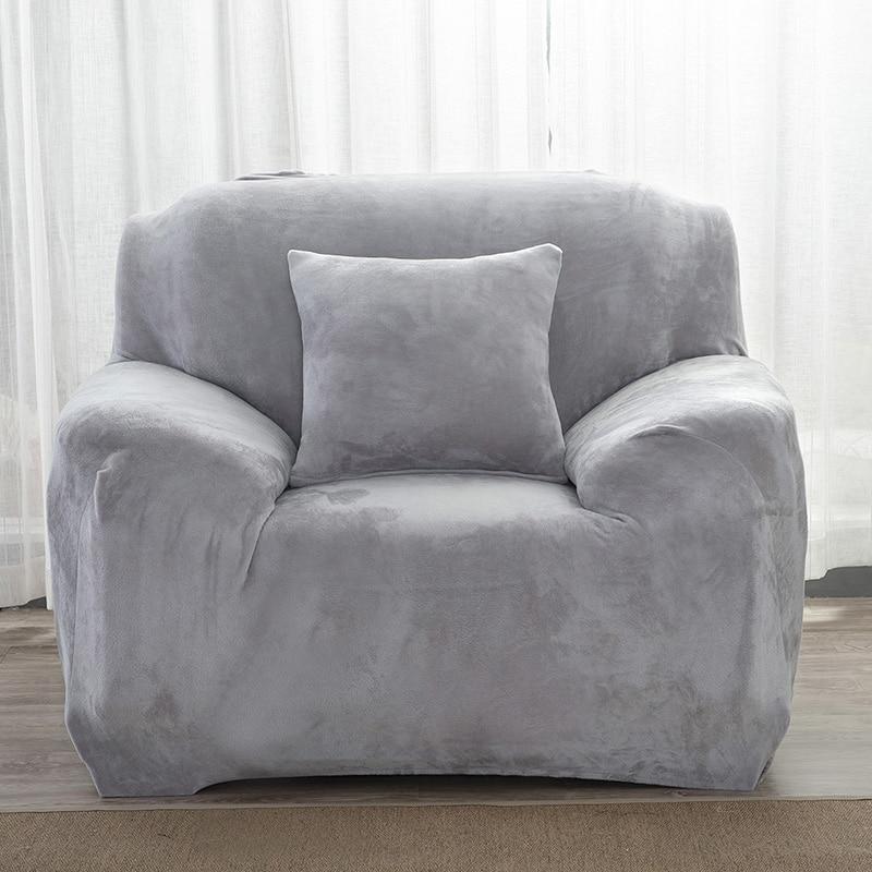 1 2 3 4 seat plush sofa fabric cover slip resistant sofa. Black Bedroom Furniture Sets. Home Design Ideas