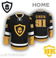 7837bfdd7 SexeMara Las Vegas Black Knights Jersey custom any name and number size  small S - 4xl