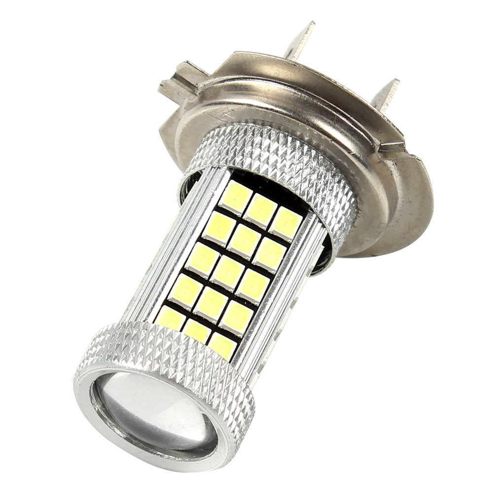 LED H7 Headlight Car Head Light Lamp 63LEDs SMD Car Styling H7 LED Automobiles Headlamp Light Source Fog Lamps Super Bright
