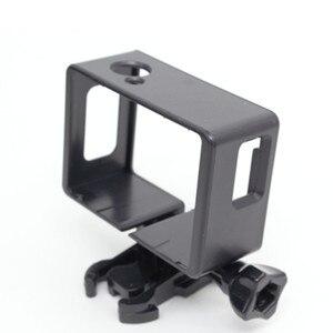 Image 5 - Sj4000 אביזרי פלסטיק מסגרת מקרה עבור Sjcam Sj4000 Sj6000 מגן גבול מסגרת עבור Sjcam 4000 Wifi פעולה ספורט מצלמה