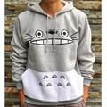 Engrossar Nova Moda Dos Homens/mulheres Dos Desenhos Animados Totoro Hoodie Unisex Camisola 3d Harajuku Patchwork Animais 3d Hoodies do Pulôver Tops