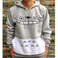 Thicken New Fashion Men/women Cartoon Totoro Hoodie Unisex 3d Sweatshirt Harajuku Animal Patchwork 3d Pullover Hoodies Tops