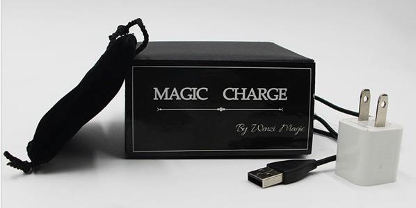 New Arrivals Magic Charge By Wenzi Magic Tricks,Magic Props,Mentalism Close Up Street Magic Gimmick Super Effect Recommend