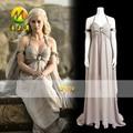 Game of Thrones Daenerys Targaryen Cosplay Costume Women Dress for Halloween Party