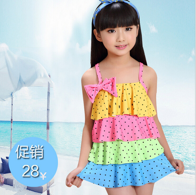 summer style children polka dot frill layer cake swimsuit cute girl one piece swimwear bow hammock summer style children polka dot frill layer cake swimsuit cute      rh   aliexpress