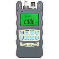Gray 10MW AUA-80A optical power meter red light machine fiber light decay tester red light source 10 km