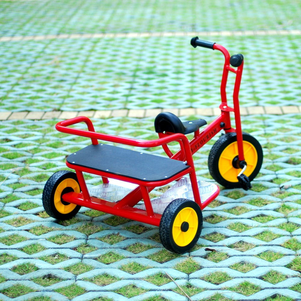 2019 new Kindergarten tricycle folding trolley bicycle baby stroller twisting baby car preschool children bicycle in Bicycle from Sports Entertainment
