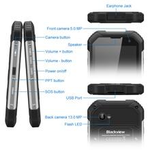 "In stock Original Blackview BV6000 Mobile Phone 4G LTE MTK6755 Octa Core 2.0GHz 4.7"" HD IPS 3+32GB NFC OTG IP68 Waterproof 13MP"
