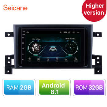 Higher Version RAM 2GB+ROM 32GB Android 8.1 Car GPS Navigation Unit Player For 2005-2015 Suzuki GRAND VITARA Support Radio TPMS - Category 🛒 Automobiles & Motorcycles