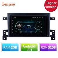 Versión superior RAM 2 GB + ROM 32 GB Android 8,1 coche GPS navegación unidad reproductor para 2005-2015 suzuki GRAND VITARA apoyo Radio TPMS