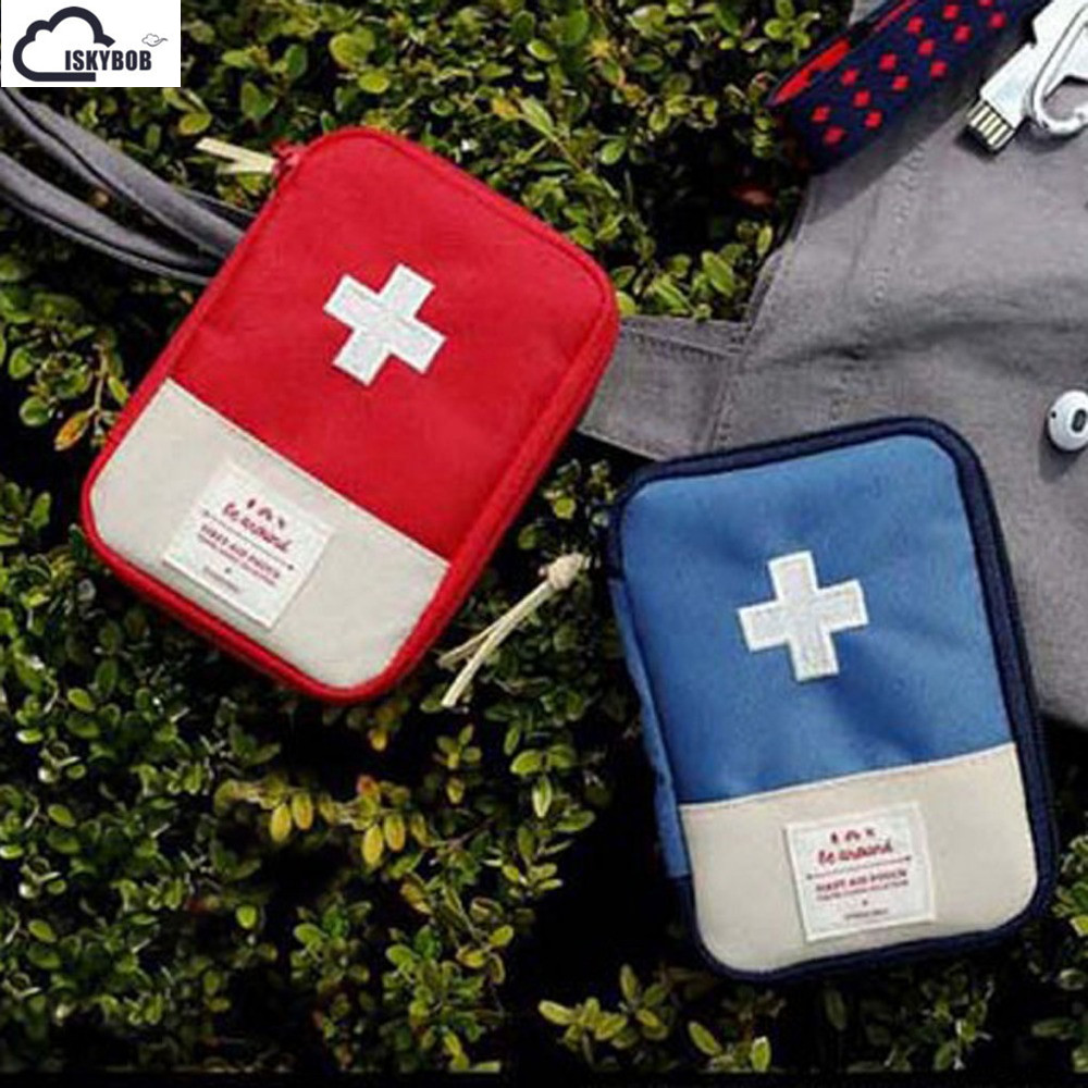 Home First Aid Kit Bag Survival Portable Emergency Case недорго, оригинальная цена