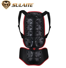 SULAITE Motorcycle Protection Moto Bike Body Armor Backpiece Back Protective Protector Body Spine Armor Motorcycle Armor Vest