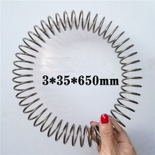 1pcs 304 Stainless Steel Spring 2*16 Pressure Spring 2.5 Outer Diameter 25 wire diameter 3 3.5 4 4.5mm