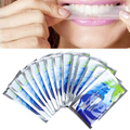 14 Pairs Teeth Whitening Tiras de Gel Clareador Dental Care Higiene Oral Branqueamento Branquear Os Dentes Clareamento dental Branqueador Ferramentas