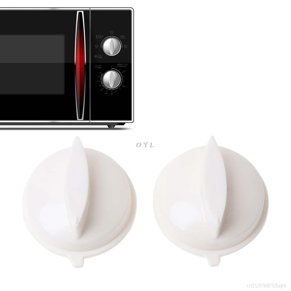 2Pcs Microwave Oven Rotary Knob Timer Plastic Control Switch 44x36x18mm For Media Universal for OYl home2Pcs Microwave Oven Rotary Knob Timer Plastic Control Switch 44x36x18mm For Media Universal for OYl home