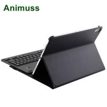 Animuss Detachable Aluminum Bluetooth Keyboard For iPad Pro 11 2018 Ultra Thin Protective Case Folio