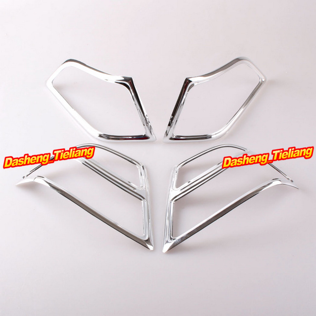 For Honda Goldwing GL1800 2001-2005 Fairing Saddlebag Light Accents Decoration Boky Kits Parts Accessories Chrome, Brand New show chrome accessories 52 612 saddlebag molding insert