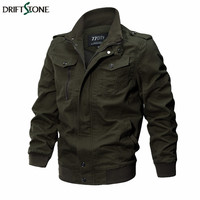 New Military Style Tactical Jacket Winter Autumn Men Cotton Army Pilot Coat Clothing Casual Air Force