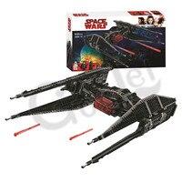 2019 Новая серия Звездных Войн галстук здание истребителя блок модель совместимые части игрушек с 10907 игрушки для детей Подарки