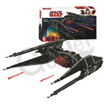 2019 NEW Star Wars Series Kylo Ren's TIE Fighter Building Block Bricks Toys Compatible with 10907 Toys for Children Gifts(China)