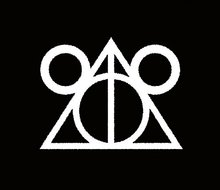 CCI Disney Deathly Hallows Harry Potter Decal Vinyl Sticker Cars Trucks Vans Walls Laptop White  5.5 x 4.25 in CCI1670 deathly hallows wax seals s logo harry potter multi color brass stamp