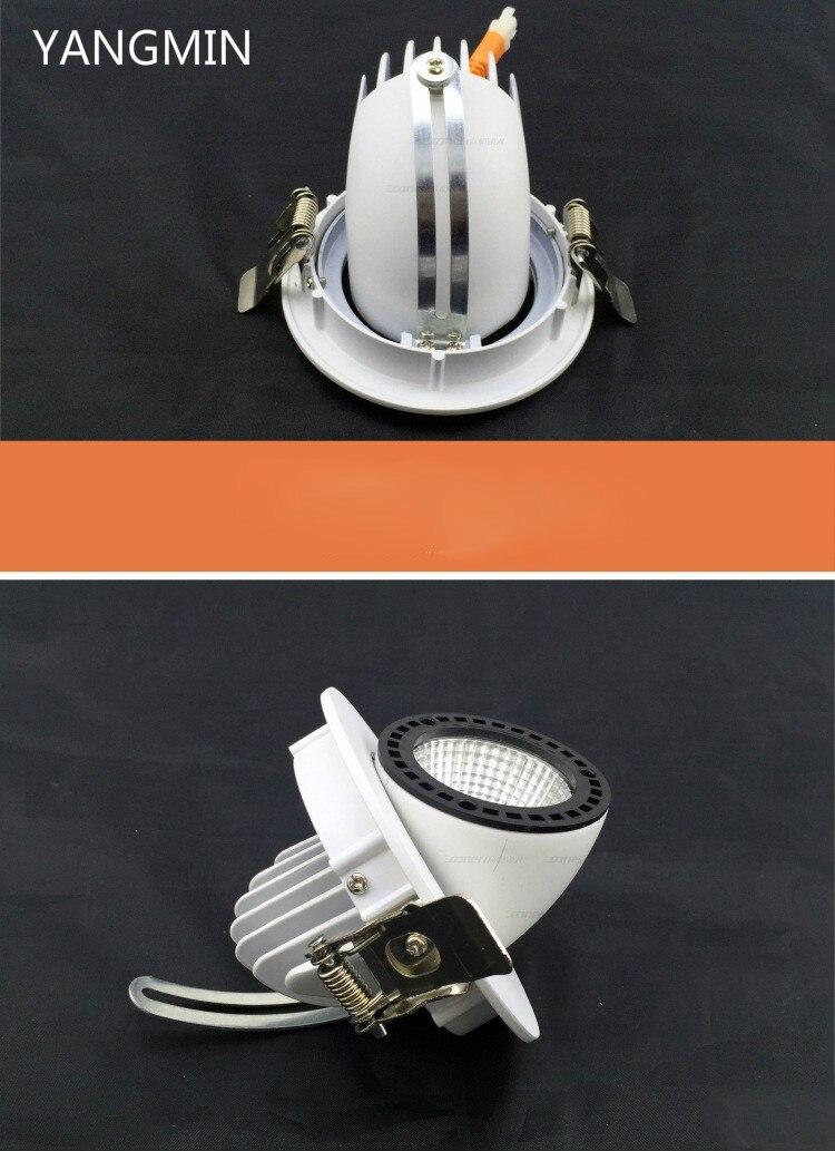 Livraison gratuite LED Downlight 50 W Spot encastré lampe de plafond lumière éclairage à la maison pour salon cuisine salle de bains CE ROHS - 6