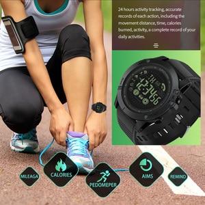 Image 5 - Spovan Top Brand Sport Watch Black Military Quality Military Quality A Plastic Bluetooth Wristwatch Waterproof Date Reloj Mujer